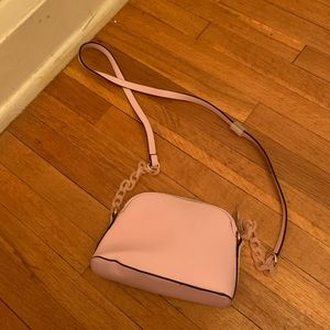 Lilac a new day cross body bag
